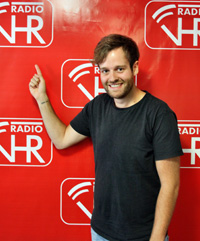 Bruck im TV Interview bei Radio VHR