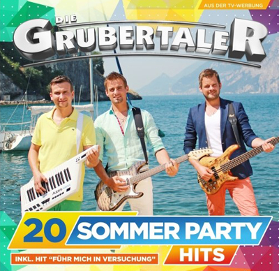 Die Grubertaler - 20 Sommer Party Hits (Album am 26.06.2015)