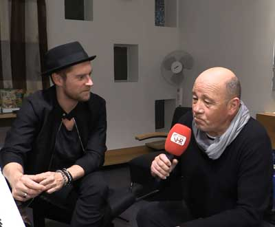 Johannes Oerding im TV Interview bei Radio VHR