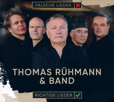 Thomas Rühmann & Band - Richtige Lieder (Album am 01.12.2018)