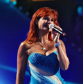 Andrea Berg beim Hansi Hinterseer Open Air 2011
