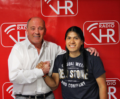 Leo Rojas im Interview bei Radio VHR (Video)